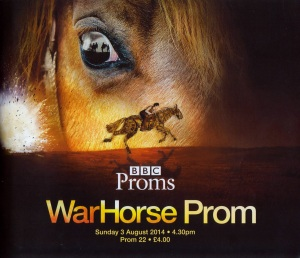 War Horse Prom - official programme