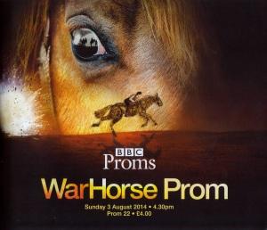 War Horse Prom - official programme