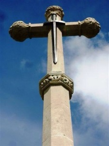 The Memorial Cross in Ampthill Park