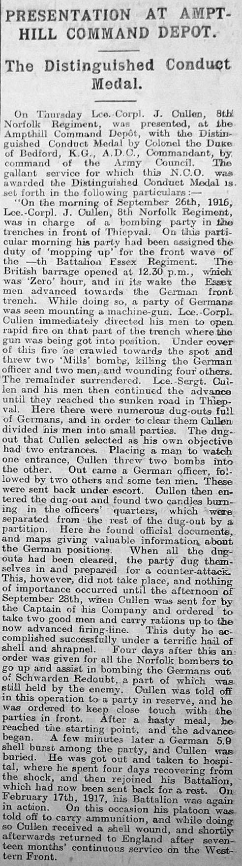 Bedfordshire Standard - August 10, 1917