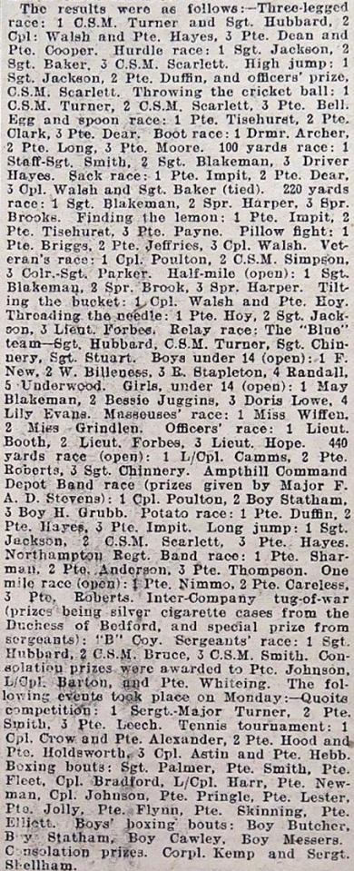 Bedfordshire Standard - July 5, 1918