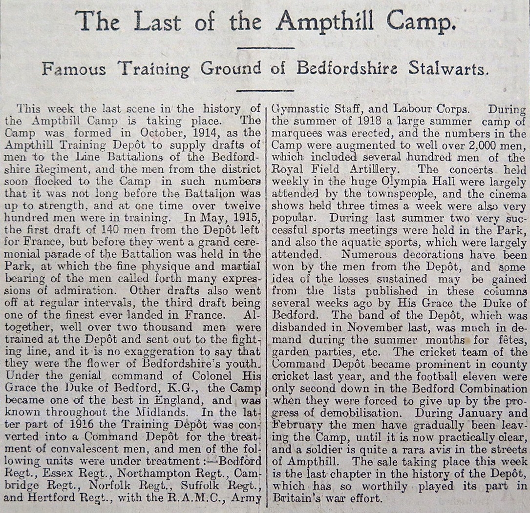 1919.3.21 BS camp summary